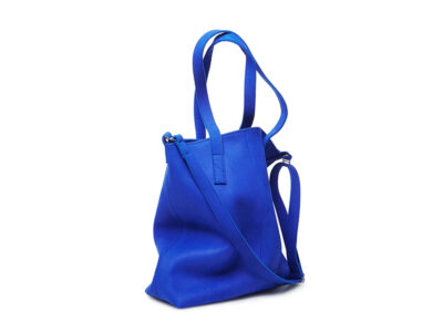 nasire shopper in blue majorelle nubuck leather